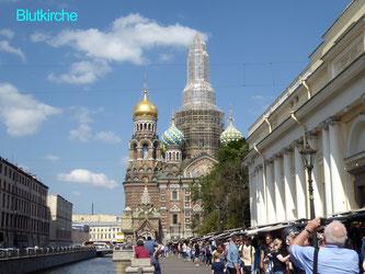 Bild: Die Blutkirche in St. Petersburg