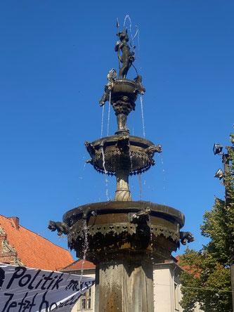 Bild: Der Lunabrunnen