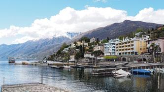 Bild: Blick auf Ascona am Lago Maggiore