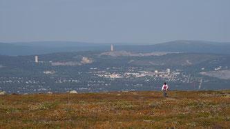 Bild: Blick über die Landschaft