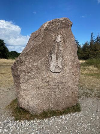 Bild: Jimi Hendrix Gedenkstein