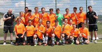 Die C1-Junioren spielen in der neuen Saison in der Rheinlandliga.