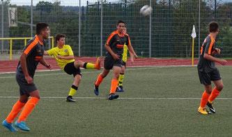 Völlig überfordert waren die C1-Junioren bei ihrem Gastspiel in Simmern.