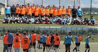 Die C1-Junioren trafen auf die Jubilee High School aus England.