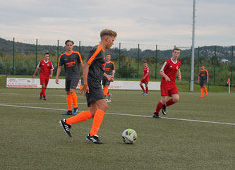 Mit 3:1 bezwangen die B1-Junioren die JSG Grafschaft.