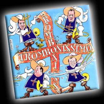 Pochette de l'album D'Artagnan et les mousquetaires du trombone.