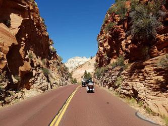 motorradreisen usa zion park wildwest motorradreisen eaglerider