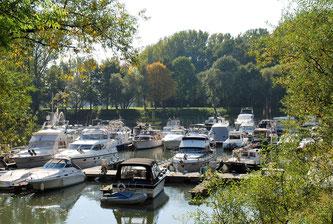 Hafen in Niederkassel-Mondorf