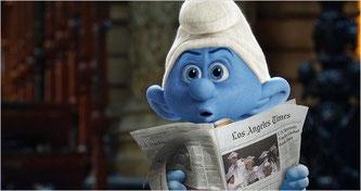 Quoi? C'est déjà dans le journal? (©Sony Pictures)