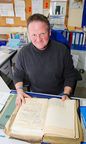 Thomas Brach, seit dem Jahr 2004 der Geschäftsführer der Gemeindewerke Kleinblittersdorf.