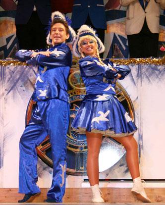 Stefan Jung mit Tanzpartnerin Kathrin Wermuth.