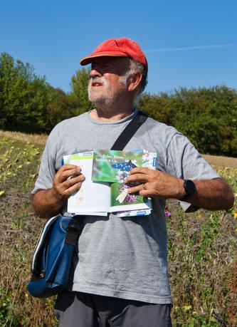 Schmetterlingsexperte Rainer Ulrich.