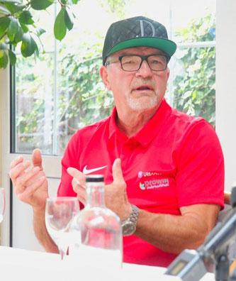 Karl-Heinz Krüger, der Trainer von Jürgen Doberstein