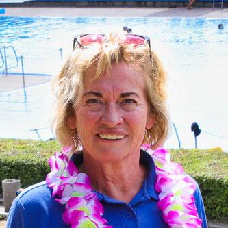 Ulrike Niederländer, die Vorsitzender des Fördervereins für das Freibad.