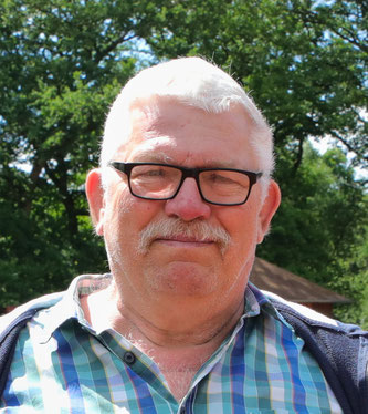 Hans Jürgen Jung, der Vorsitzende des SV Sitterswald.