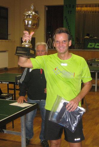 """1. Sieger Peter Wolf: Einzelturnier """"Nacht der langen Noppen""""  2008,2012,2013,2014"""