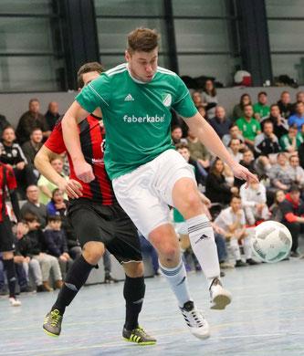 Lucas Hector zählte mehr als ein Jahrzehnt lang auch zu den besten Hallenfußballern des Saarlandes.