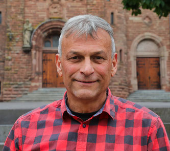 Der stellvertretende Ortsvorsteher von Kleinblittersdorf Karl-Peter Fuhr.