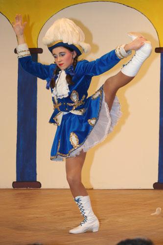 Selina im Jahr 2006 bei ihrem ersten Auftritt.