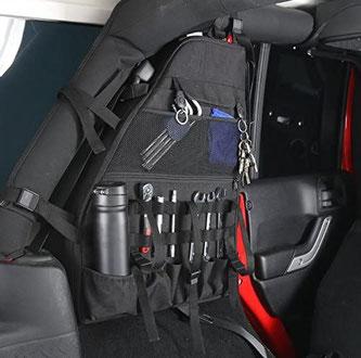 Innenraum Taschen für den Jeep Wrangler JKU