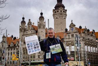 """Bei der Aktion wurden auch noch einmal Unterschriften gesammelt für die Petition """"Bauen und Natur erhalten"""". Foto: René Bauer"""
