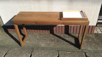 テーブルを小さく改造