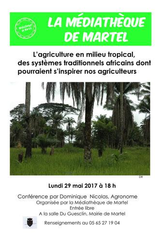 Dominique Nicolas - chercheur scientifique - agriculture en milieu tropical - Médiathèque de Martel