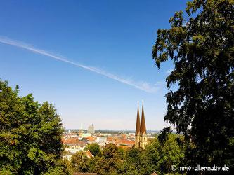 Blick von der Sparrenburg auf Bielefeld