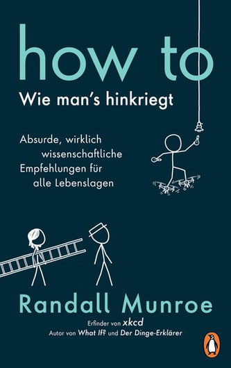 Cover von Randall Munroes neuestem Buch: How to