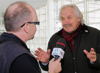 Dragoslav Stepanovic im Interview © dokfoto.de / Friedhelm Herr