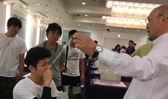 大阪、横浜などで講師としてセミナーに招かれています写真