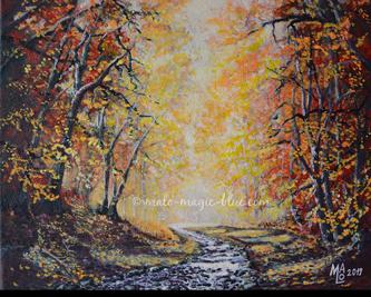 Mario Lorenz, Herbstwald