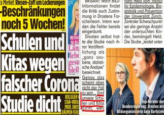 """""""Nun will Piatov also Professor Christian Drosten zur Schlachtbank führen"""" (Bild: FB - Georg Streiter)"""