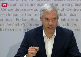 Martin Ackermann (Screenshot SRF)