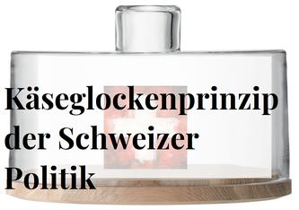"""""""Das Käseglockenprinzip: Deckel drauf und warten bis es stinkt"""" - Anton Aeberhard"""