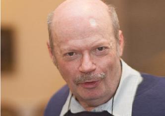 """János Széky (65, Foto) ungarischer Publizist, Leiter der Außenpolitik bei """"Élet és Irodalom"""", einer der noch existierenden liberalen Wochenzeitungen Ungarns."""