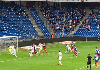 Basel-Sion: 1 zu 0 durch Kasami nach 4 Minuten.