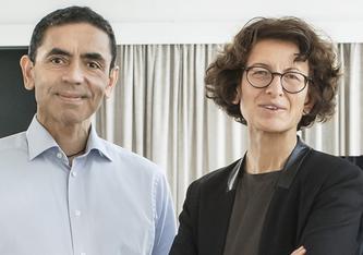 Dr. Ugur Sahin und Dr. Özlem Türeci von BioNtech. (Foto: https://biontech.de)