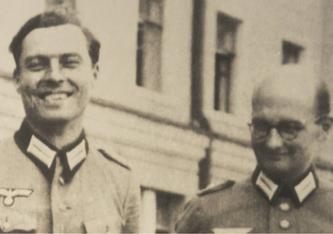 Schlüsselfiguren des Attentats auf Hitler am 20. Juli 1944: Claus Schenk Graf von Stauffenberg (l.) und Albrecht Ritter Mertz (Foto: imago)
