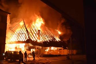 Der Schaden ist enorm. (Bildquelle: Polizei Kanton Solothurn)
