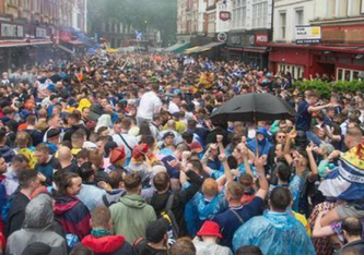 Hier haben sich die schottischen Fans u.a. angesteckt. FOTO: IMAGO