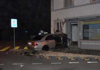 Beim schweren Unfall in Derendingen SO ist letzte Nacht ein 29-Jähriger gestorben. (Bildquelle: Polizei Kanton Solothurn)