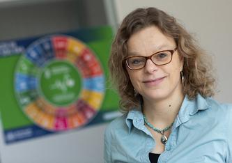 Prof. Dr. Sibylle Sexson ist zum Sommersemester an die FH Münster berufen worden. Sie lehrt und forscht zur Gesundheitspädagogik und ist Studiengangsleiterin für Therapiewissenschaften. (Foto: FH Münster/Wilfried Gerharz)