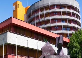 Spital Sion, eines der bereits überlasteten Spitäler in der Schweiz.