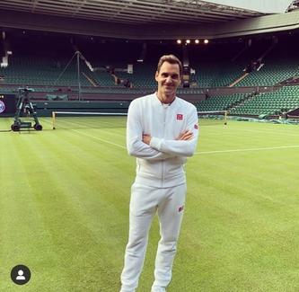 Roger Federer am Knie operiert