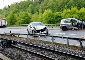 Horrorunfall mit einem Toten und zwei Schwerverletzten. (Bildquelle: Kantonspolizei Thurgau)