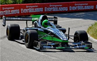 Eric Berguerand und sein Lola FA99: Auch in Les Paccots eine unschlagbare Kombination  - Bildquelle: motorsport.ch