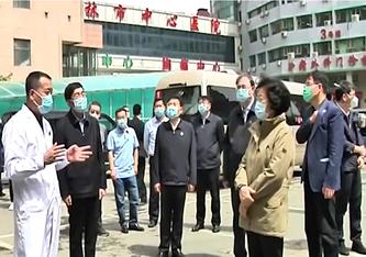 In China herrscht teilweise Kriegszustand
