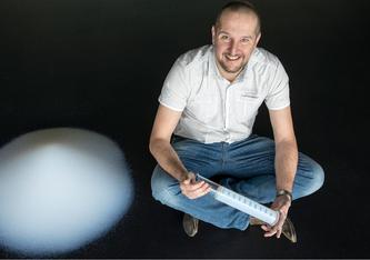 Matthias Koebel ist seit Anfang 2021 CEO des neu gegründeten Empa-Start-ups Siloxene AG. Bild: Empa