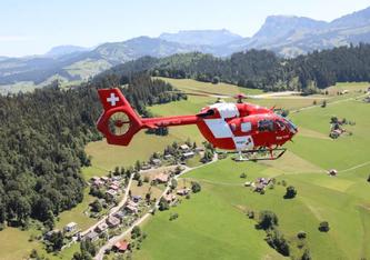 Symbolbild – Einsatzflug der Rega (Bildquelle: Rega Mediendienst)